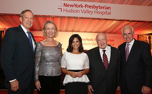 George and Libby Pataki, Darlene Rodriguez, Fox News Chairman and CEO Roger Ailes, and John Federspiel, President, NewYork-Presbyterian/Hudson Valley Hospital.