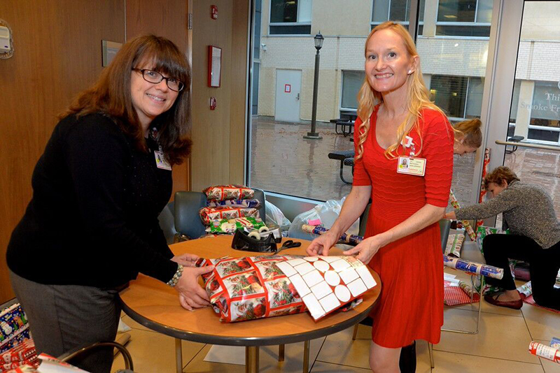Santa's Helpers Wrapping Party attendee Luanne