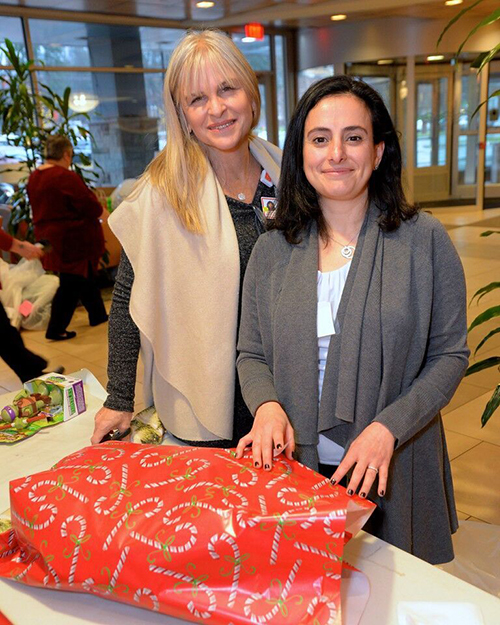 Santa's Helpers Wrapping Party attendee Taline