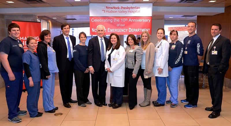 NYP/Hudson Valley Hospital ED staff