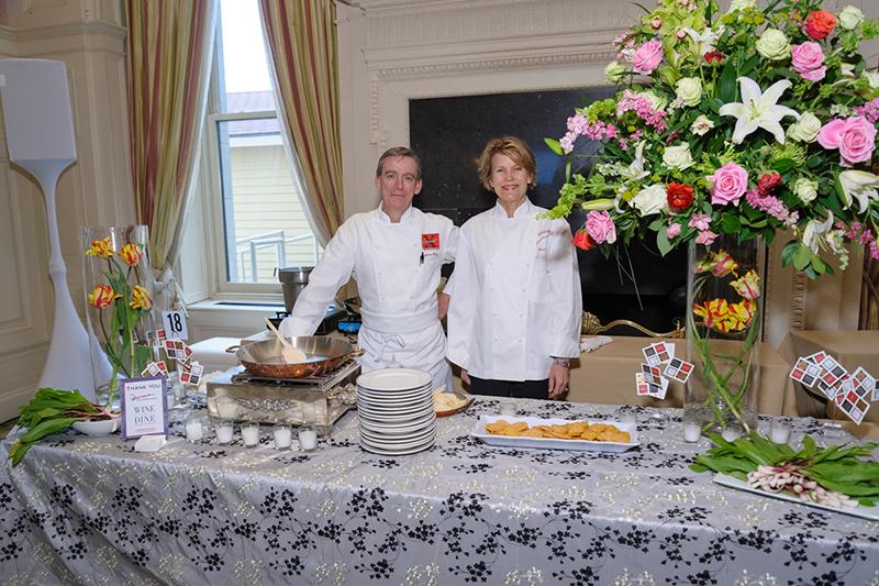 Wine and Dine Around the World chefs