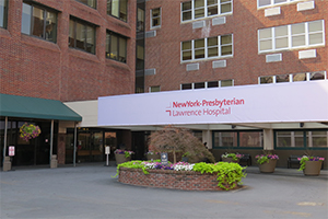 exterior of New York Presbyterian Lawrence Hospital