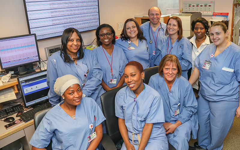 labor and delivery team