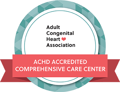 Adult Congenital Heart Disease Accredited Comprehensive Care Center logo