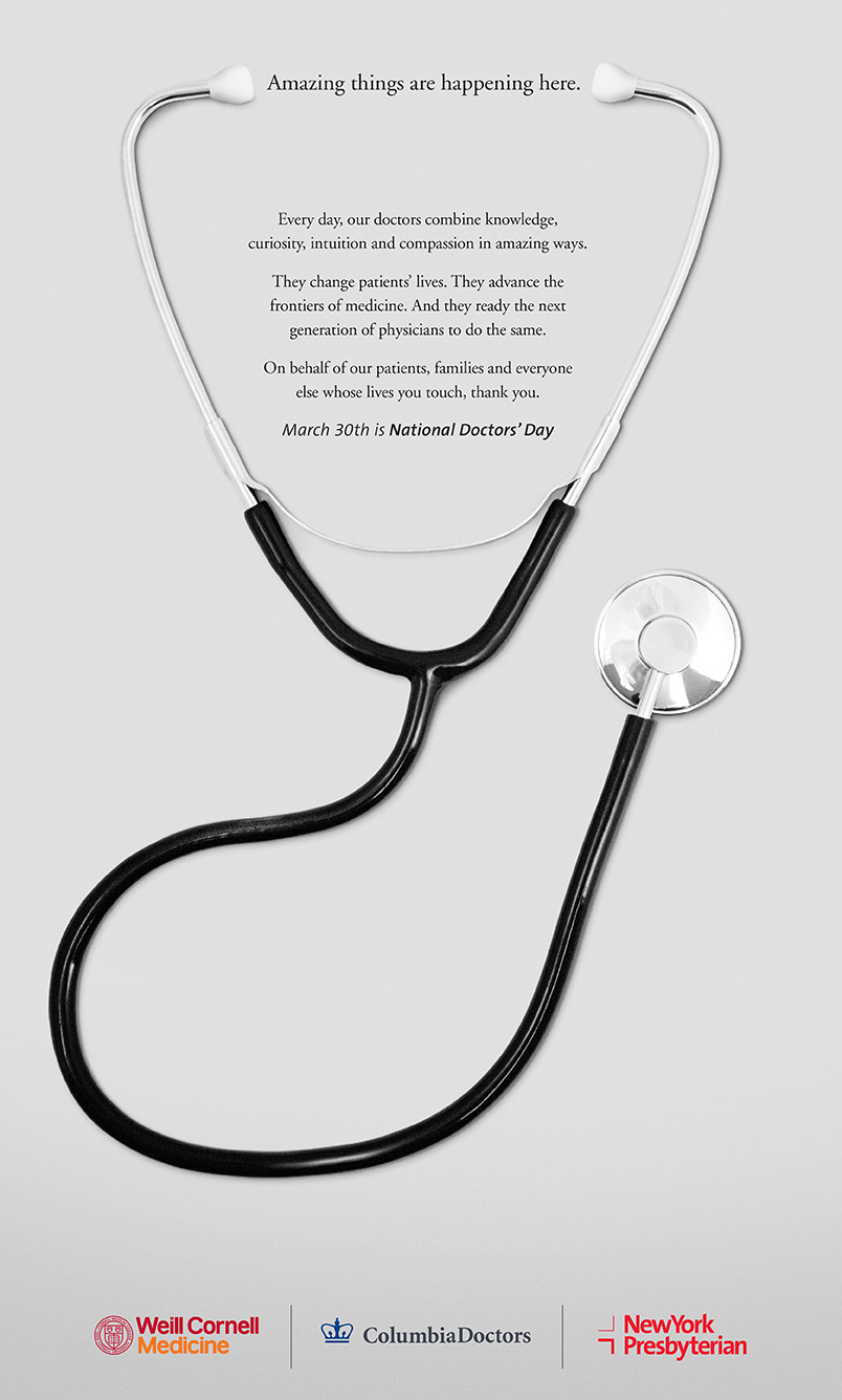 celebrating national doctors day   newyork presbyterian