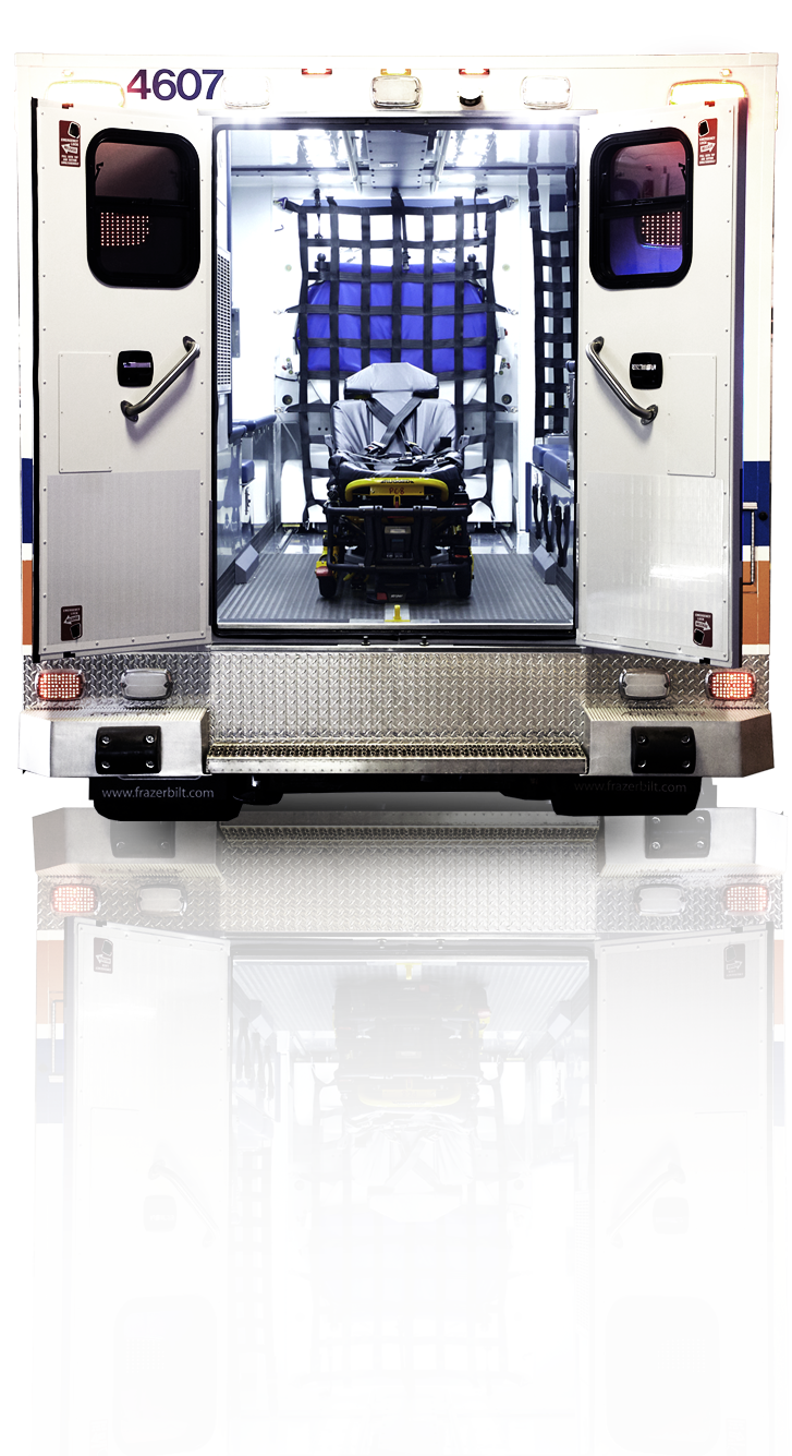 Inside of Mobile Stroke Treatment Unit