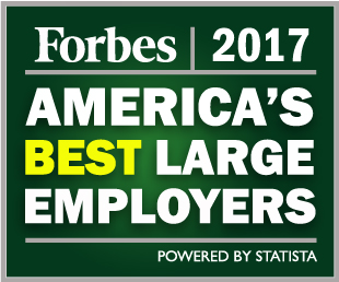 NYP Named One of America's Best Employers 2017 by Forbes Magazine