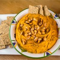 White Bean & Butternut Squash Hummus