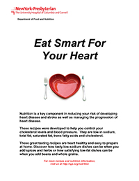 Eat Smart for Your Heart Cookbook