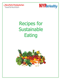 Sustainable Eating Cookbook