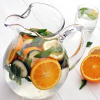 Cucumber Citrus Sparkling Spa Water