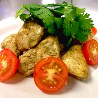 Cilantro Chicken Tikka