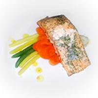 Dill Garlic Salmon