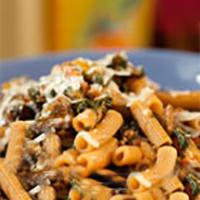 Portobello and Spinach Bolognese