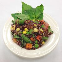 Quinoa Basil Salad
