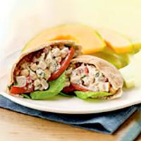 Mediterranean Chicken Salad Pita