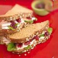 Heart Healthy Turkey Cranberry Sandwich