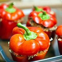 Seasonal Stuffed Peppers