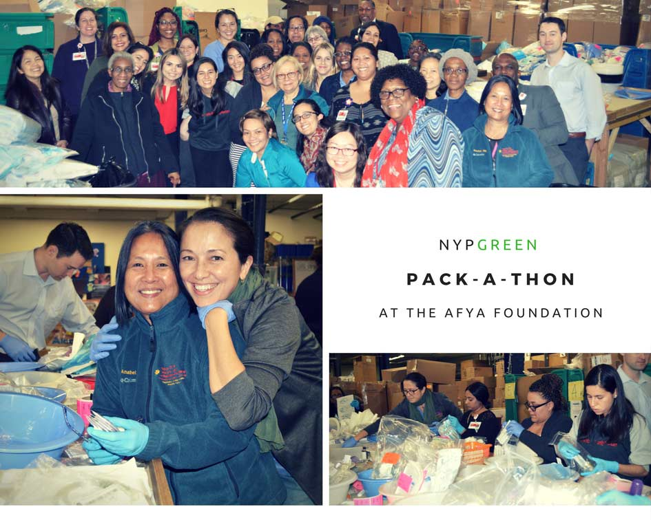 NYPGreen Pack-a-Thon