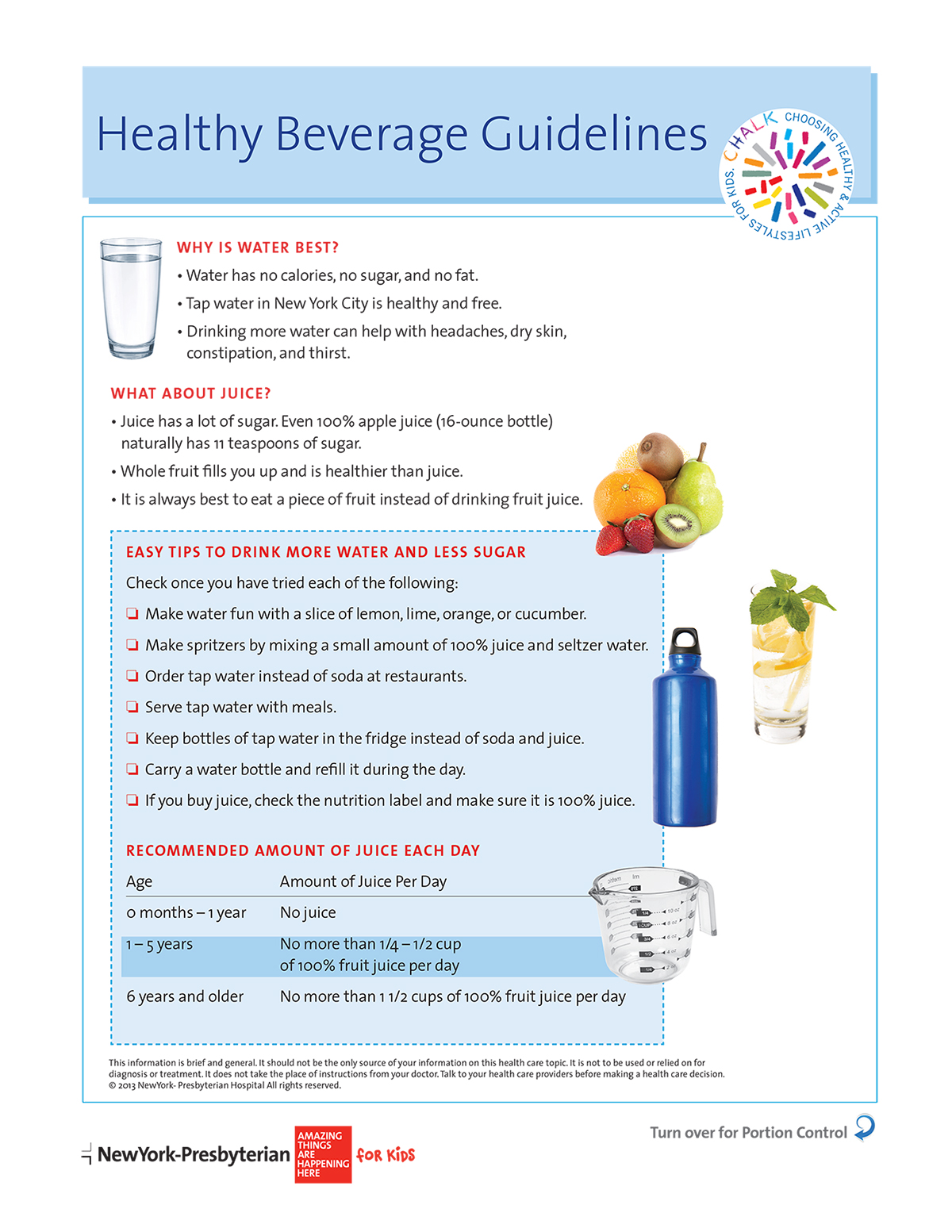 Healthy Beverage Guidelines