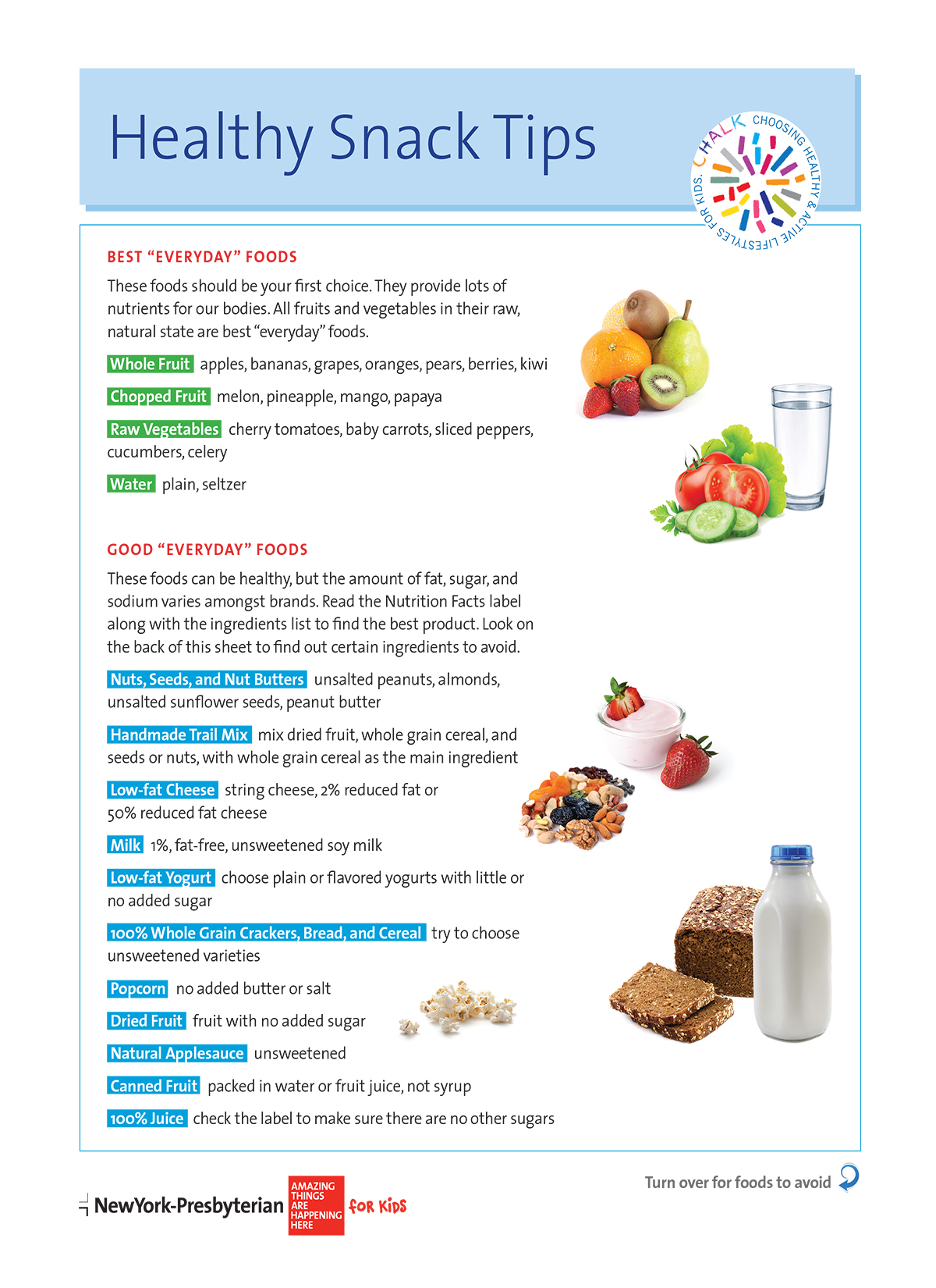 Healthy Snack Tips