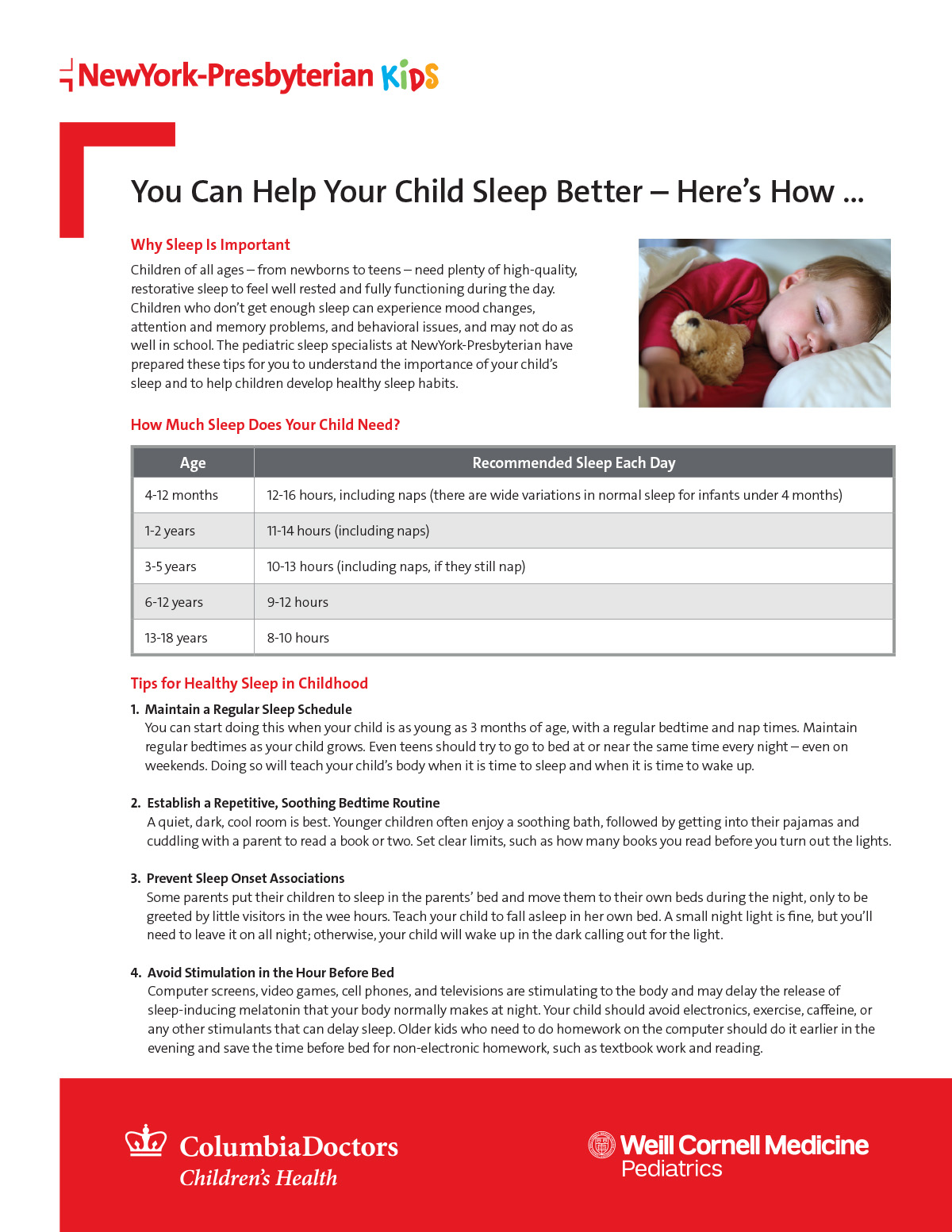 You Can Help Your Child Sleep Better