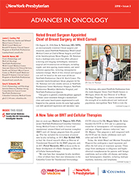 Image of page one of Advances In Oncology