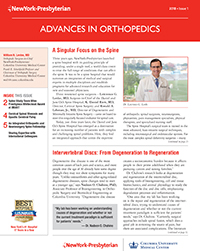 Image of page one of Advances In Orthopedics