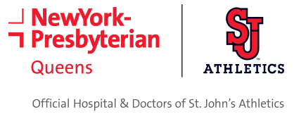 NewYork-Presbyterian Queens is the official hospital of St. John's University Athletics