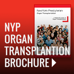 NYP Organ Transplantation Brochure