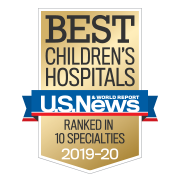US News and World Report Best Childrens Hospitals ranked in 10 Specialties