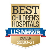 U.S. News Best Children's Hospitals - Cancer