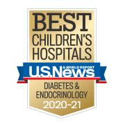 U.S. News Best Children's Hospitals - Diabetes and Endocrinology