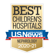 U.S. News Best Children's Hospitals - Nephrology