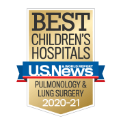 U.S. News Best Children's Hospitals - Pulmonology