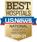 NewYork-Presbyterian was ranked among the top cardiac care programs in the nation, according to US News & World Report.