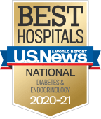 NewYork-Presbyterian was ranked among the top endocrinology programs in the nation, according to US News & World Report.