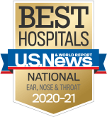NewYork-Presbyterian was ranked among the top otolaryngology programs in the nation, according to US News & World Report.