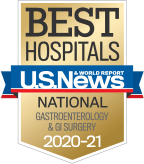 NewYork-Presbyterian was ranked among the top gastroenterology programs in the nation, according to US News & World Report.