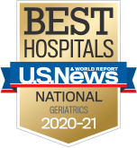 NewYork-Presbyterian was ranked among the top geriatrics programs in the nation, according to US News & World Report.
