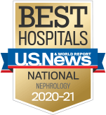 NewYork-Presbyterian was ranked among the top nephrology programs in the nation, according to US News & World Report.