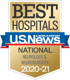 NewYork-Presbyterian was ranked among the top neurological programs in the nation, according to US News & World Report.