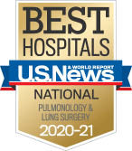 NewYork-Presbyterian was ranked among the top pulmonology programs in the nation, according to US News & World Report.