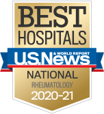 NewYork-Presbyterian was ranked among the top rheumatology programs in the nation, according to US News & World Report.