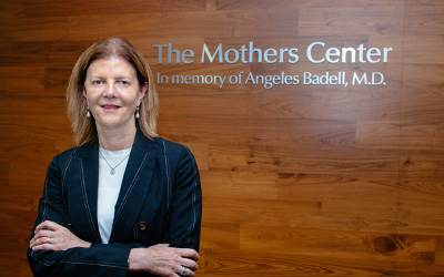Dr. Mary D'Alton, chair of the Department of Obstetrics and Gynecology at NewYork-Presbyterian/Columbia University Irving Medical Center
