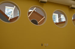 port windows at the Center for Autism and the Developing Brain