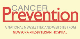 Cancer Prevention newsletter graphic