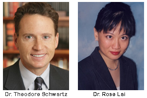 Drs. Theodore Schwartz and Rose Lai