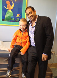 Shumyle Alam, M.D., and Max