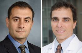 Drs. Michel Kahaleh and John Poneros